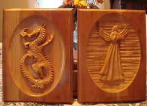 Wood Carving Engraving Custom Woodworking  CAD/CAM Software