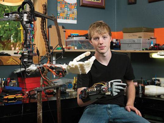 Easton LaChapelle Robot Arm CAM System