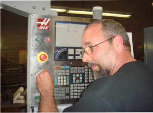 ArrZee Custom Creation Haas CNC Machine